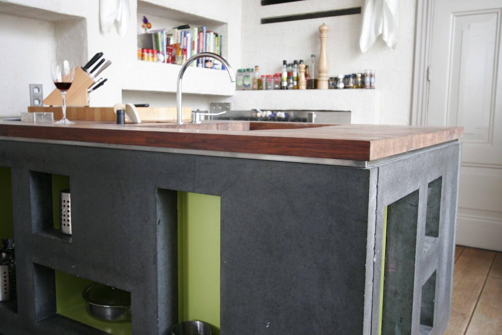 Beton In Keuken : Beton cire keuken beton cire
